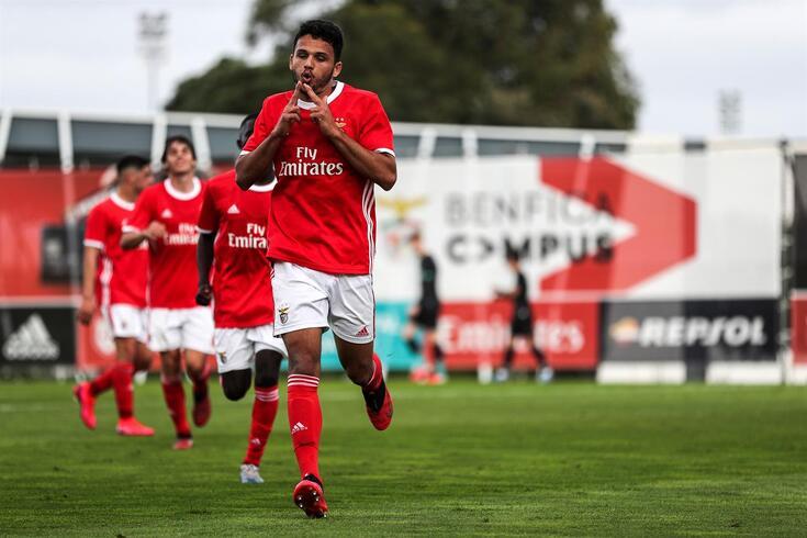 Gonçalo Ramos fez quatro golos pela equipa B esta época