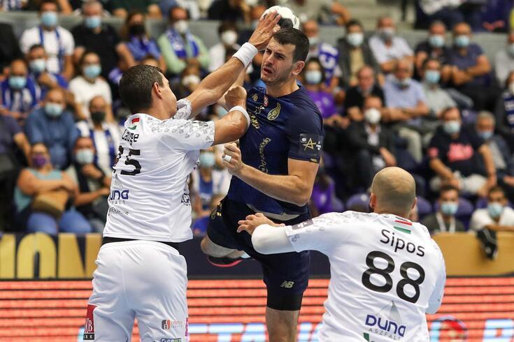 FC Porto derrotado pelo Veszprém na Liga dos Campeões