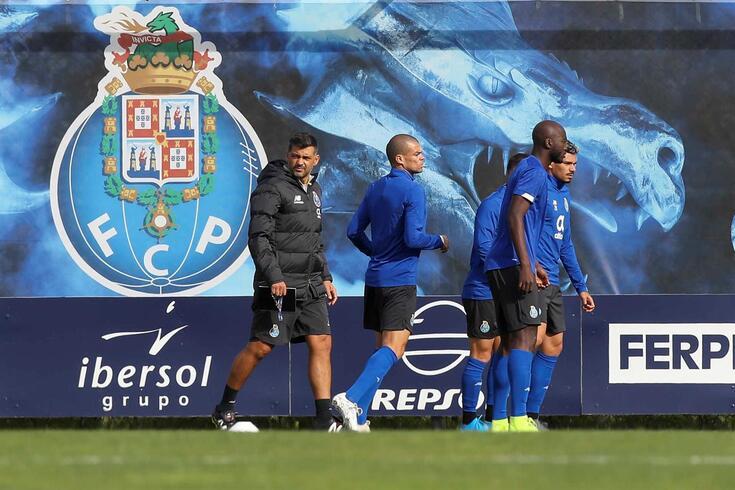 FC Porto cumpriu derradeiro treino antes do jogo com o Feyenoord