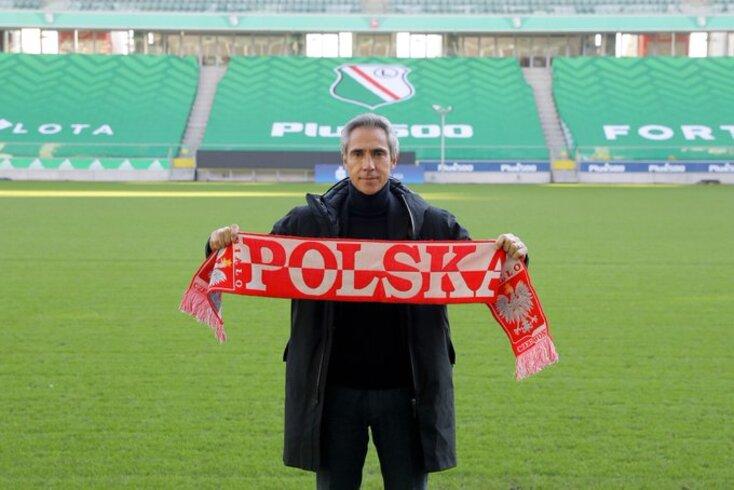 Paulo Sousa, selecionador da Polónia