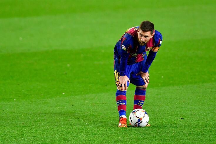 Messi escreveu muita história pelo Barcelona