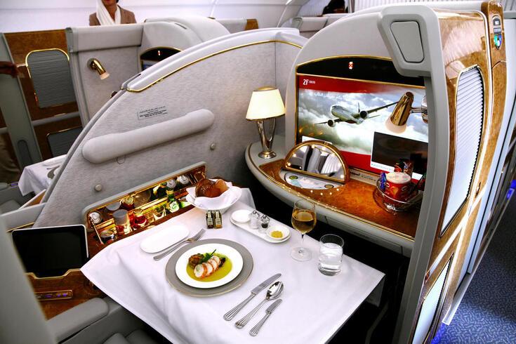 É assim que se viaja em primeira classe nas 10 cabines mais luxuosas