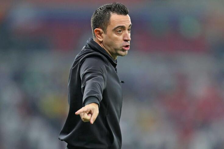 Xavi, treinador do Al-Sadd