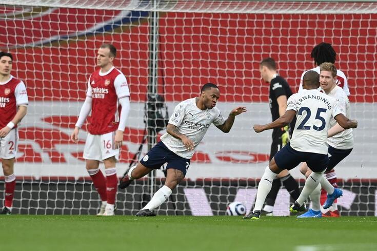 Manchester City venceu o Arsenal por 1-0