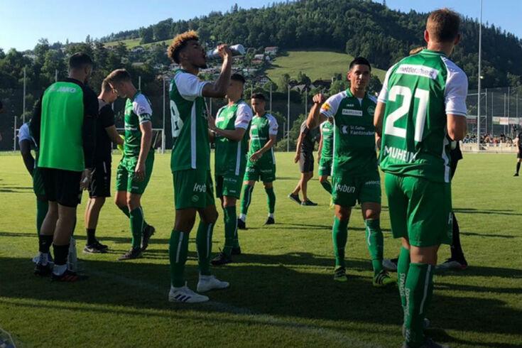 St. Gallen alinha no principal campeonato ad Suíça