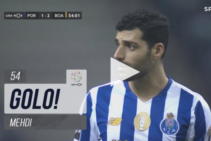 Taremi reduz desvantagem do FC Porto frente ao Boavista
