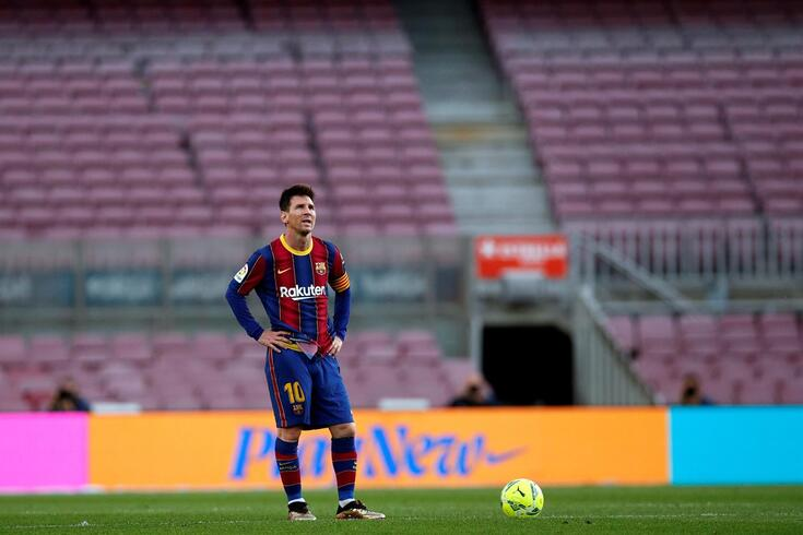Messi saiu do Barcelona
