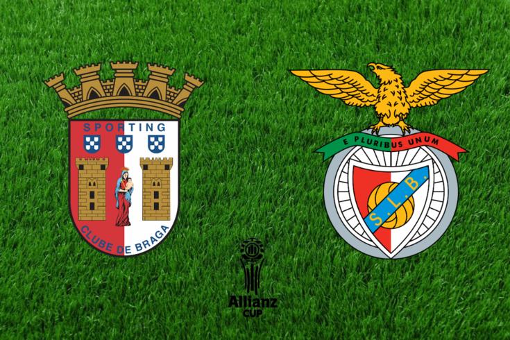 DIRETO   Braga-Benfica