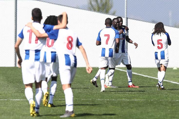FC Porto defende a Youth League conquistada na temporada passada