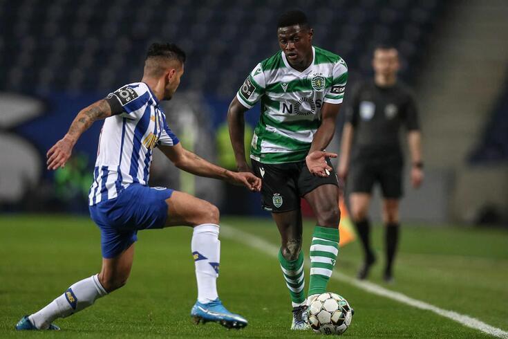 Nuno Mendes, lateral-esquerdo do Sporting