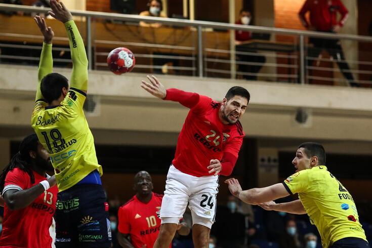 Benfica venceu o Póvoa