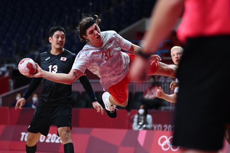 Dinamarca entrou em grande nos Jogos Olímpicos