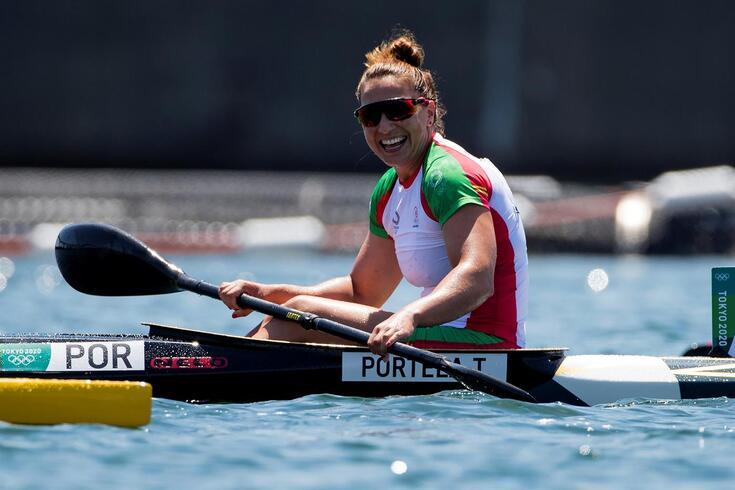 Teresa Portela em mais uma participação em Jogos Olímpicos