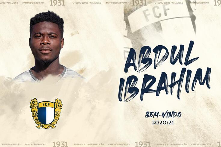 Abdul Ibrahim no Famalicão até 2023 e a ganhar ritmo nos sub-23