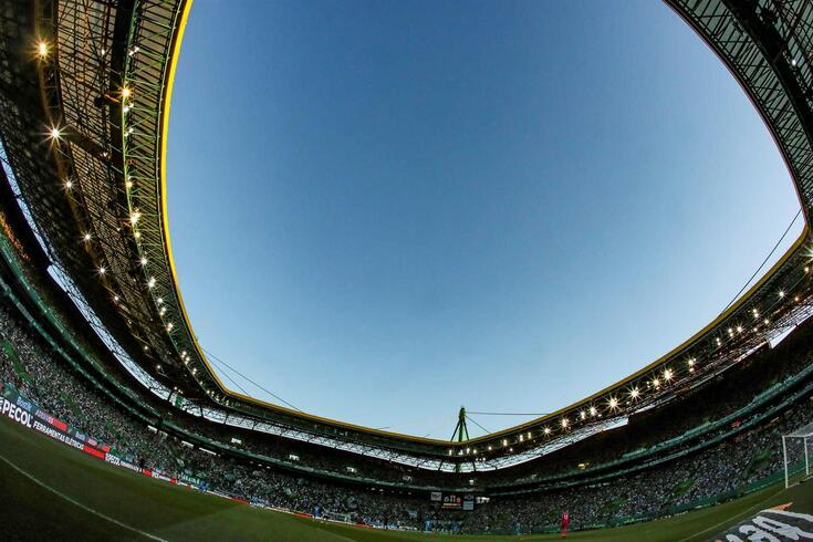 O Estádio de Alvalade, casa do Sporting