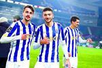 Fábio Vieira, João Mário e Diogo Leite, três dos dragões chamados ao Euro de sub-21