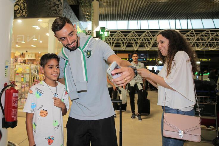 Bruno Fernandes é um ídolo no Sporting