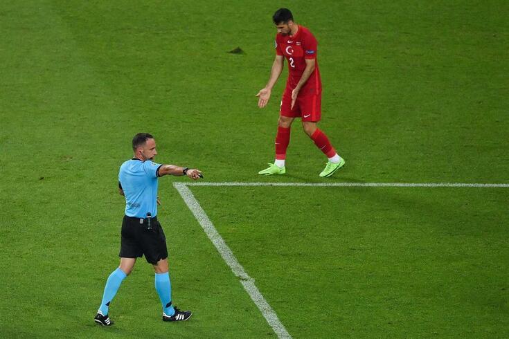 Artur Soares Dias, árbitro português que esteve no Euro'2020