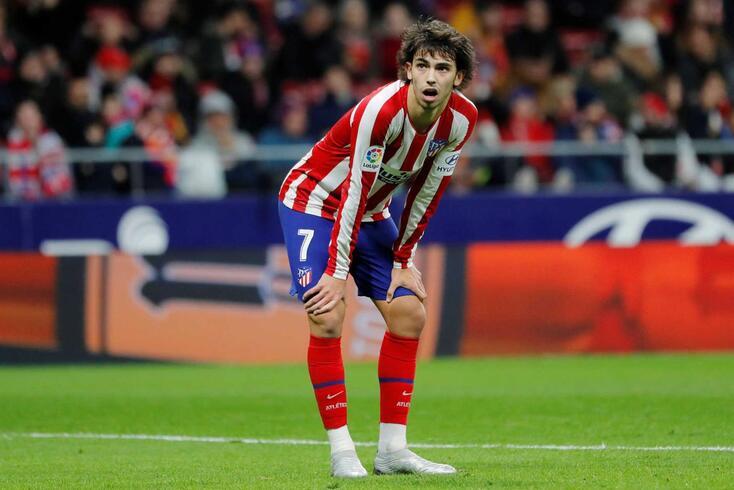 João Félix voltou a ficar em branco na receção do Atlético de Madrid ao Osasuna.