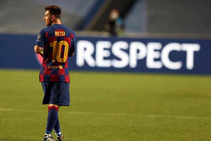 Messi deixa o Barcelona