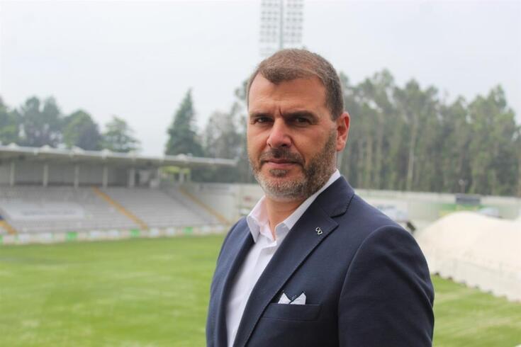 João Henriques, treinador do Moreirense