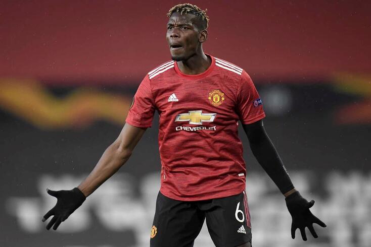 Paul Pogba, médio do Manchester United