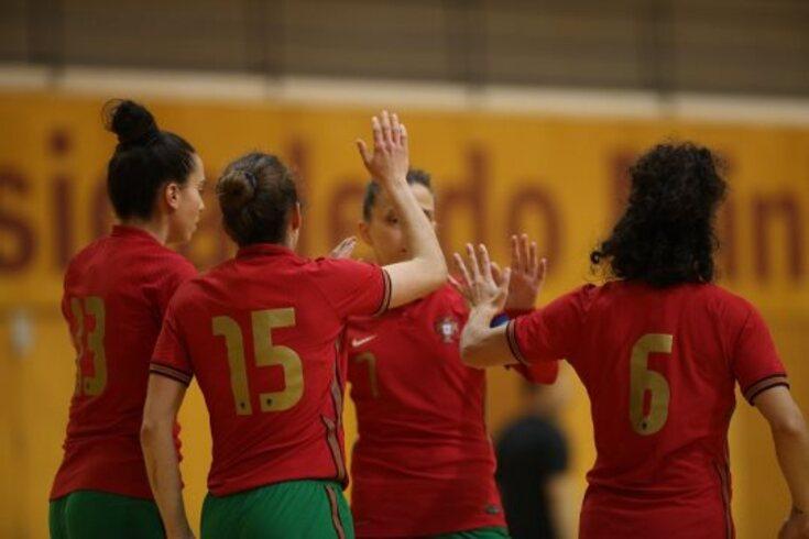 Um teste positivo para a seleção feminina de futsal