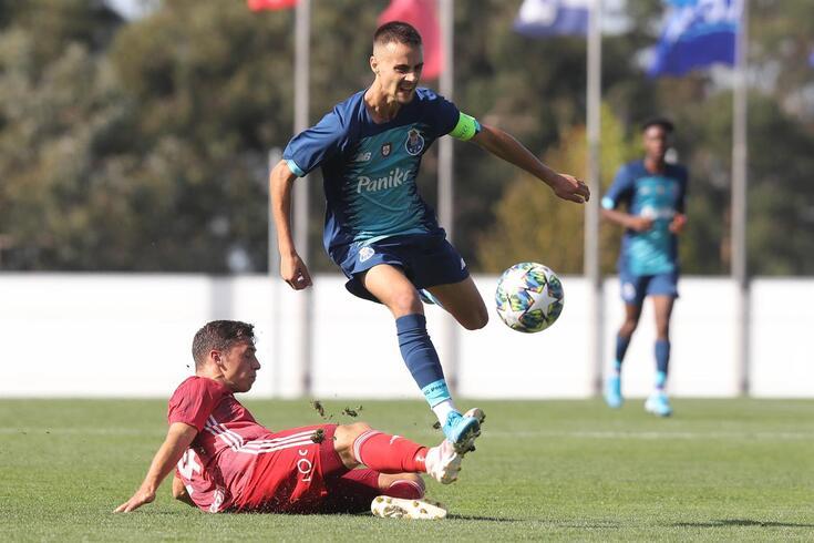 Fábio Vieira fechou a vitória do FC Porto na Letónia