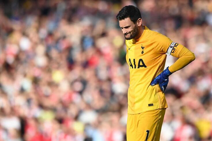 Hugo Lloris, guarda-redes do Tottenham