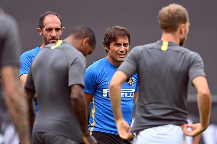 Antonio Conte, técnico da Inter