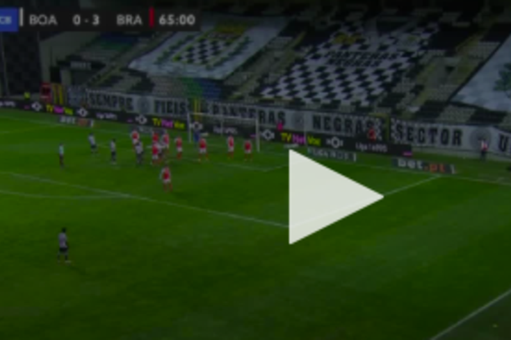 Boavista-Braga: o golo de Devenish que ainda devolveu alguma esperança no Bessa