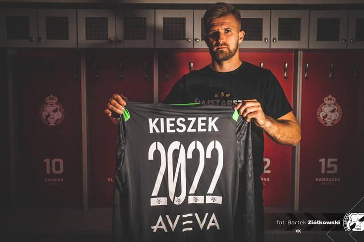 Kieszek assinou um contrato válido até 2022 com o Wisla Cracóvia