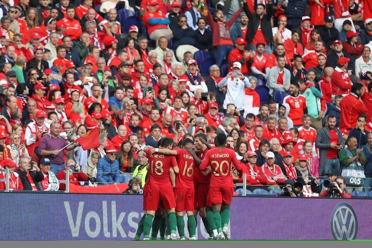 Seleção portuguesa vai defender o título europeu