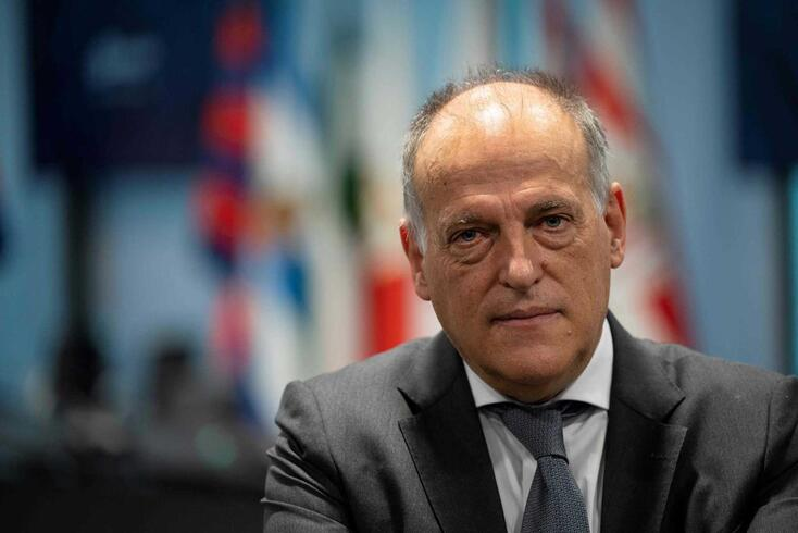 Javier Tebas, presidente da Liga espanhola