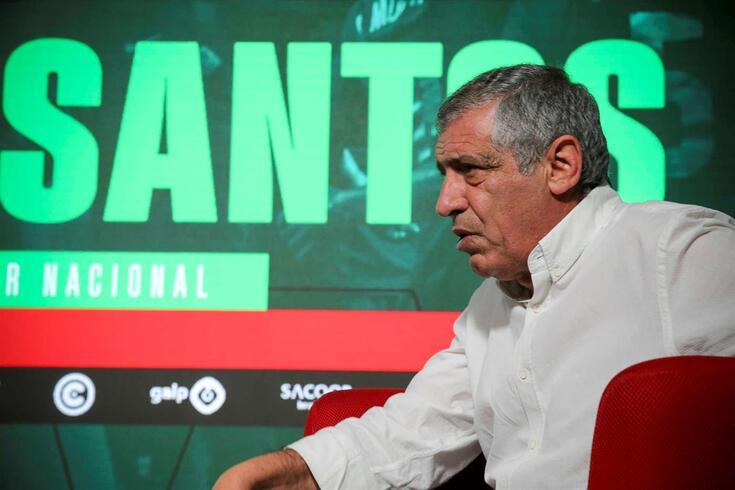Fernando Santos, selecionador nacional, em entrevista a O JOGO