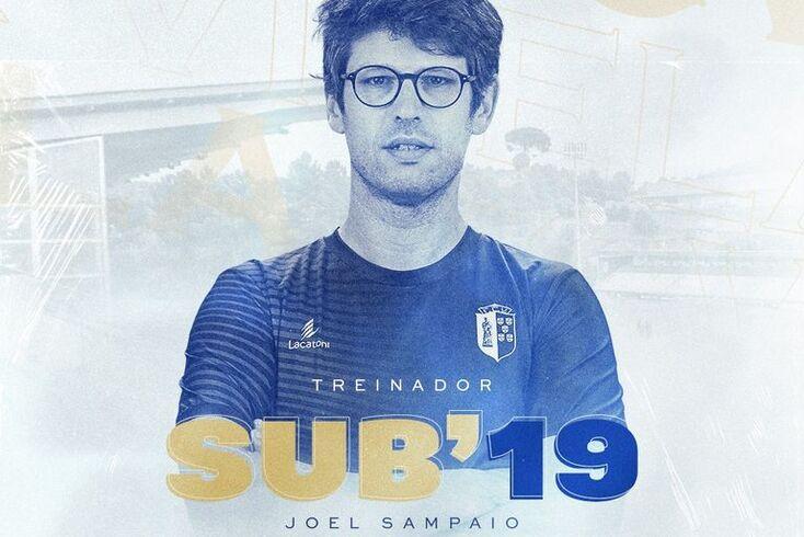Joel Sampaio, novo treinador da equipa de sub-19 do Vizela