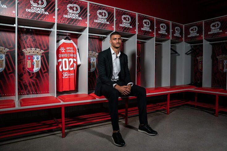 David Carmo tem contrato até 2025 com o Braga
