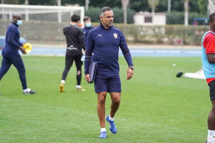 José Gomes, treinador do Almeria