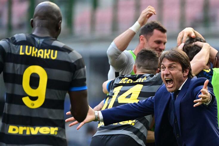 Antonio Conte, treinador do Inter