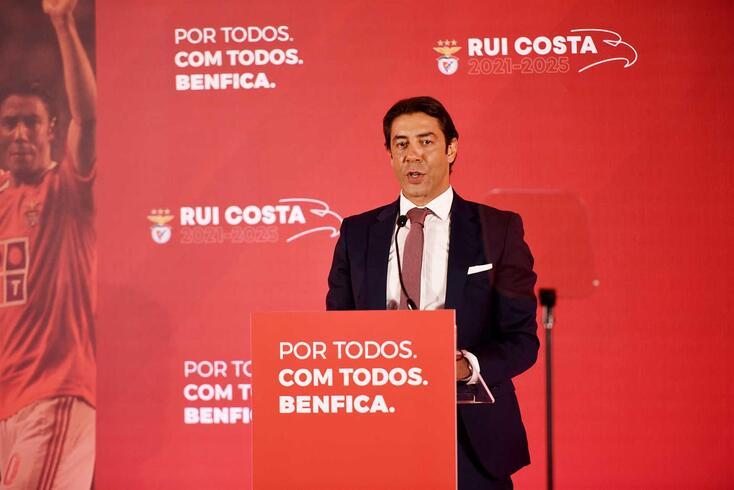 Rui Costa é candidato às eleições presidenciais do Benfica