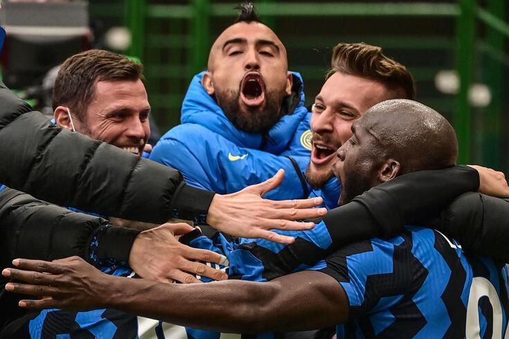 Vidal e o Inter estão em festa