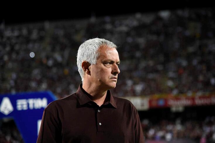Mourinho, treinador da Roma
