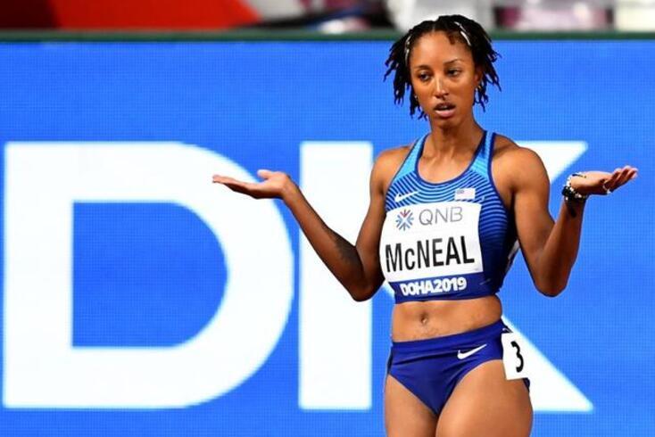 Norte-americana Brianna Mcneal arrecadou o ouro nos Jogos Olímpicos, no Brasil