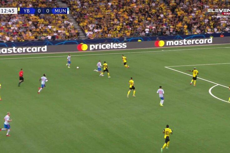 Ronaldo abre o marcador no Young Boys-Manchester United. Veja o golo