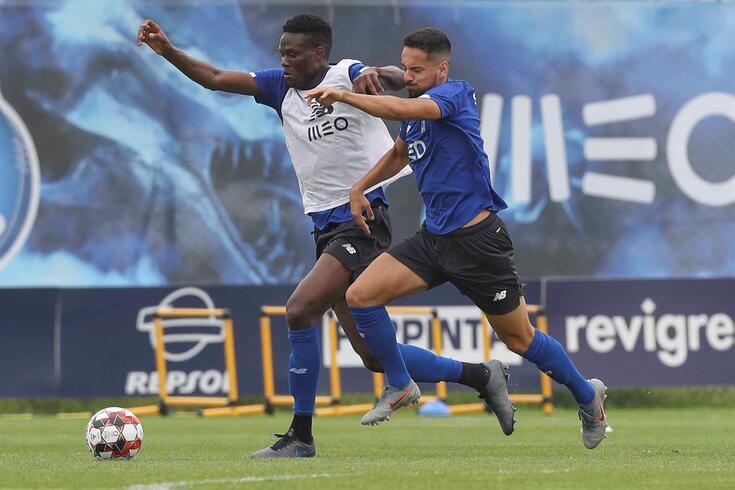 Loum e Bruno Costa preparam-se para jogar na Taça de Portugal
