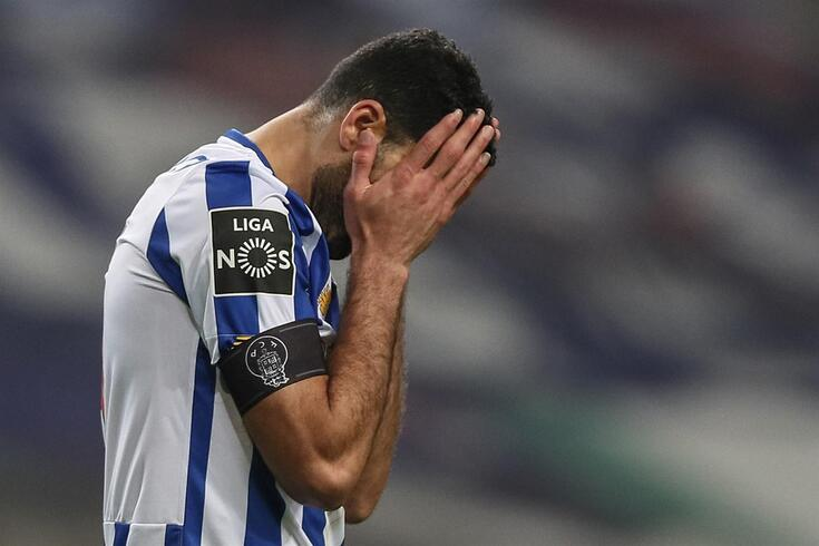 A desilusão de Taremi, avançado do FC Porto
