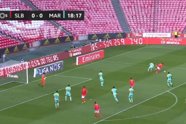Tribunal O JOGO unânime: penálti do Benfica frente ao Marítimo mal assinalado