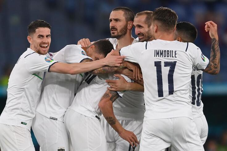 Itália venceu a Turquia no primeiro jogo do Europeu