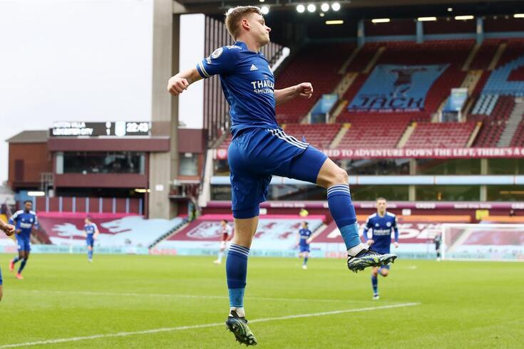 Leicester vence e chega ao segundo lugar