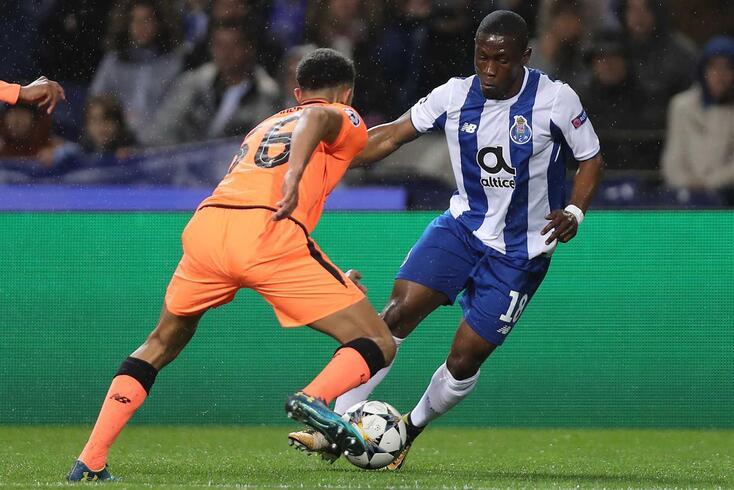Waris, avançado ganês do FC Porto